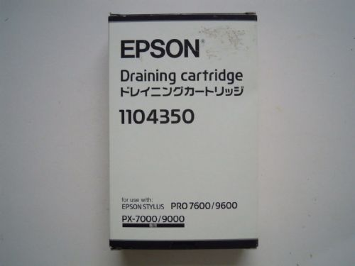 EPSON DRAINING CARTRIDGE 1104350 FOR EPSON STYLUS PRO 7600/9600